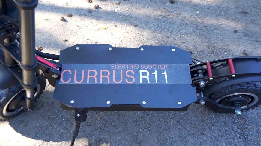 Элекросамокат Currus R11 краткий обзор