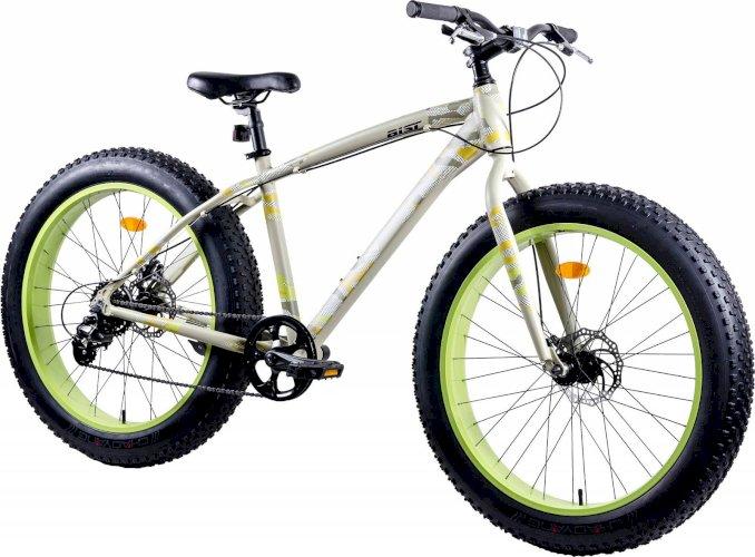 """Велосипед Aist FBS 26"""" (бежевый/салатовый, 2019)"""