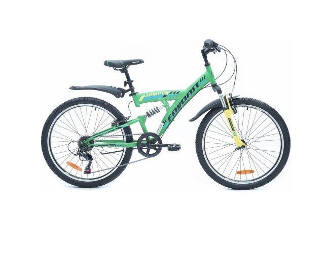 """Велосипед Favorit Jumper 24"""" V (зеленый, 2019)"""