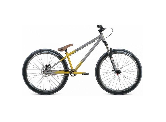 Велосипед Format 9222 26'' (серый/желтый, 2018)