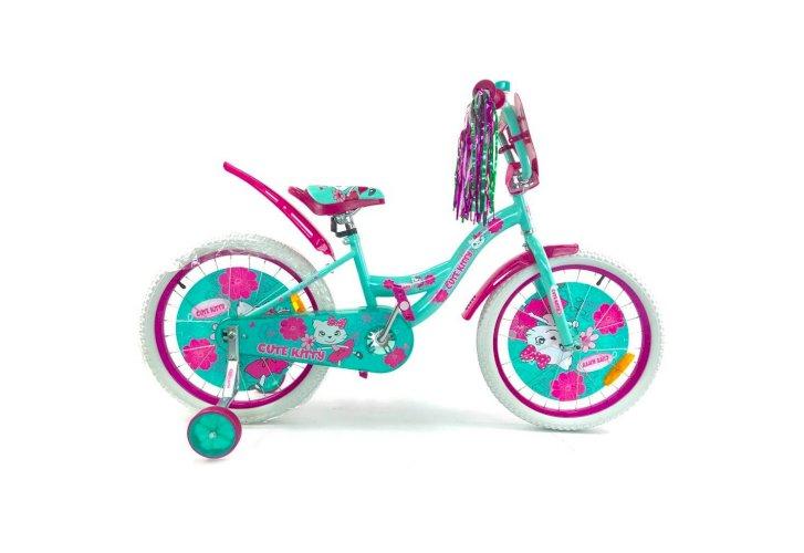 "Велосипед Favorit Kitty 14"" (бирюзовый,2018)"