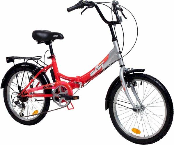 """Велосипед Aist Smart 2.0 20"""" (красный/стальной, 2019)"""
