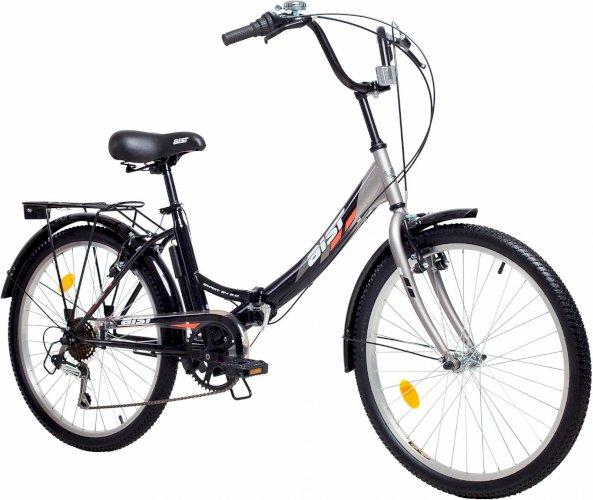"""Велосипед Aist Smart 2.0 24"""" (черный/серый, 2019)"""