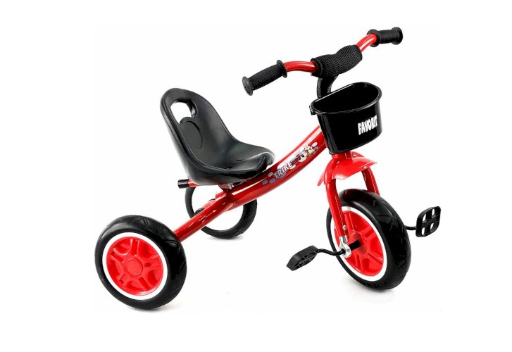 Велосипед Favorit Trike Kids FTK-108GR (красный, 2019)