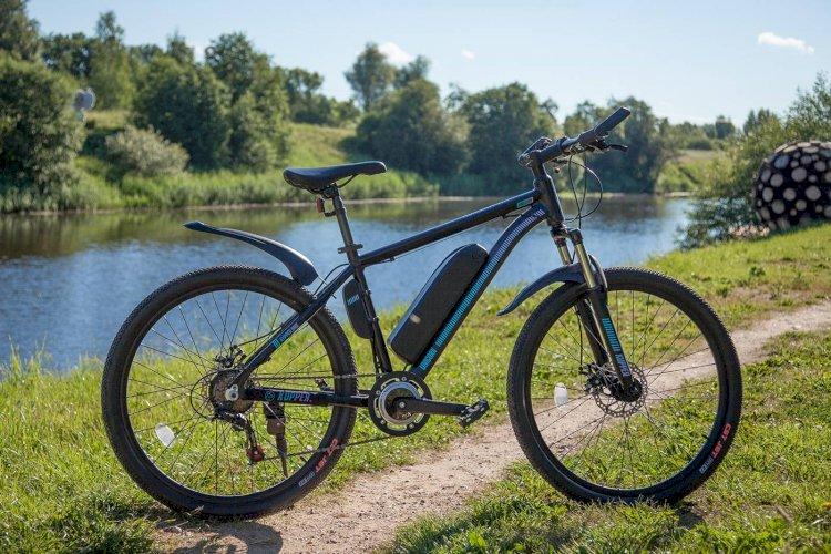 Электровелосипед Tsinova Kupper Unicorn (черный/зеленый, 2018)
